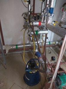 Гидропневматическая промывка ИТП, АИТП
